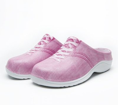 Buy Pink Canvas Backdoorshoes online